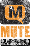 mute sports equipment logo